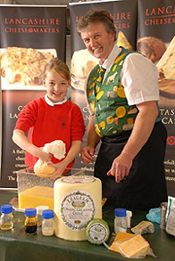 Lancashire Cheese making Demonstration